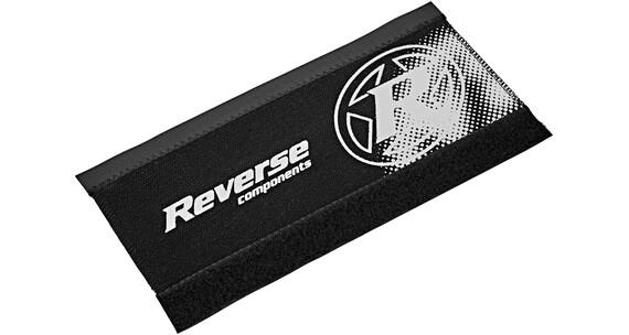 Reverse Kettenstrebenschutz schwarz/weiß